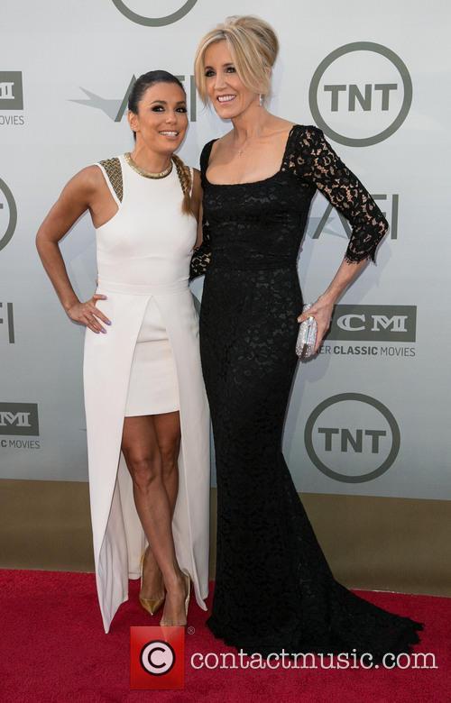 Eva Longoria and Felicity Huffman 11