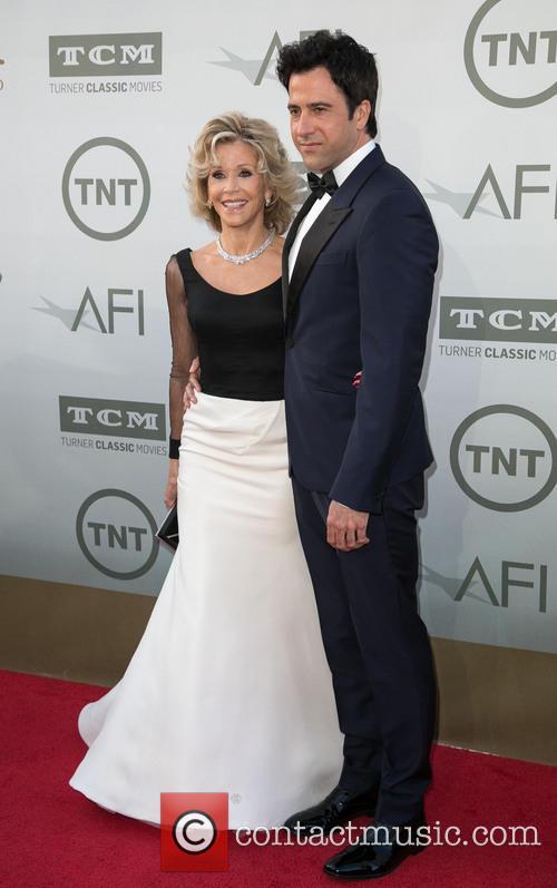 Jane Fonda and Troy Garity 1