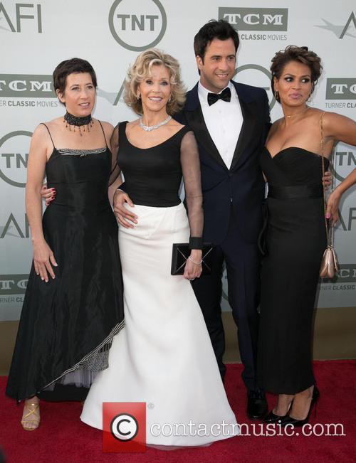 Vanessa Vadim, Jane Fonda, Troy Garity and Simone Garity 2