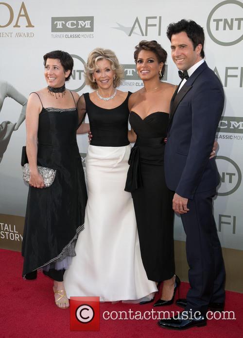 Vanessa Vadim, Jane Fonda, Troy Garity and Simone Garity 3