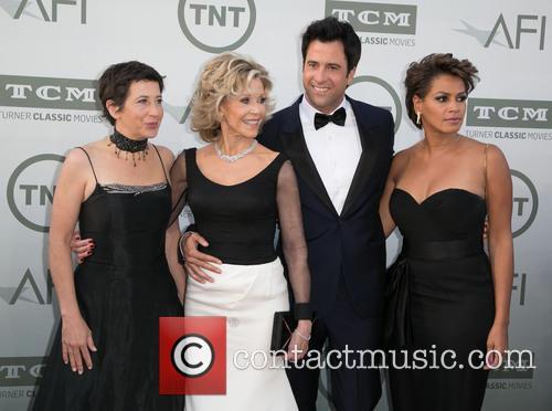Vanessa Vadim, Jane Fonda, Troy Garity and Simone Garity 1