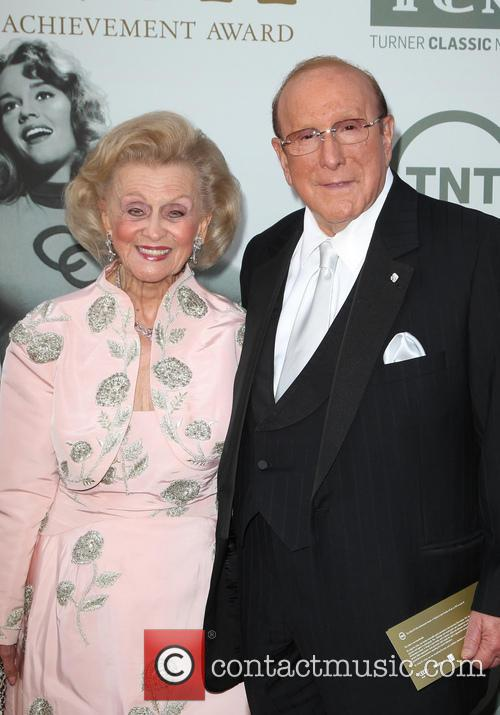 Barbara Davis and Clive Davis 1