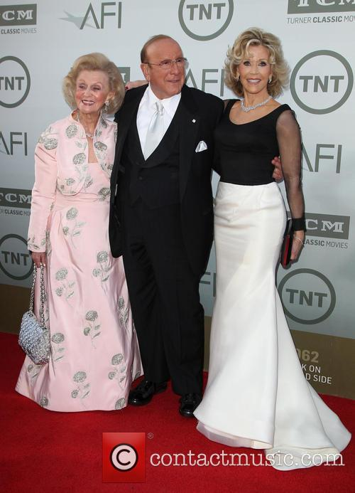 Barbara Davis, Clive Davis and Jane Fonda 10