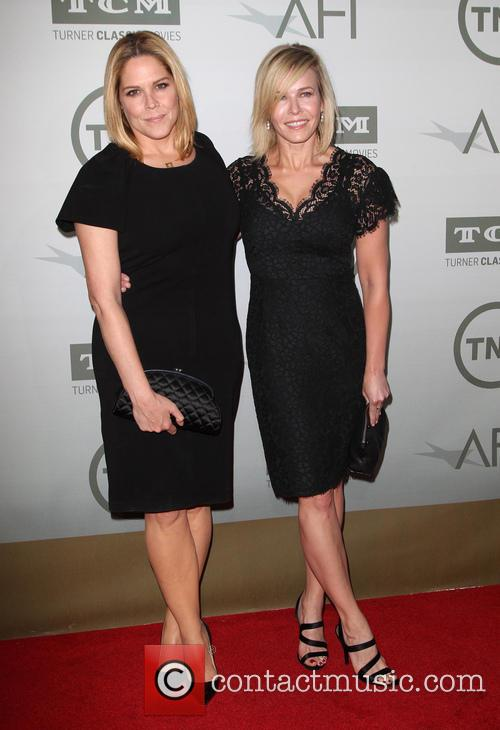Mary Mccormack and Chelsea Handler 4