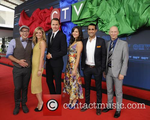 Paul Campbell, Rebecca Dalton, Jp Manoux, Darcy Michael, Holly Deveaus and Al Mukadam