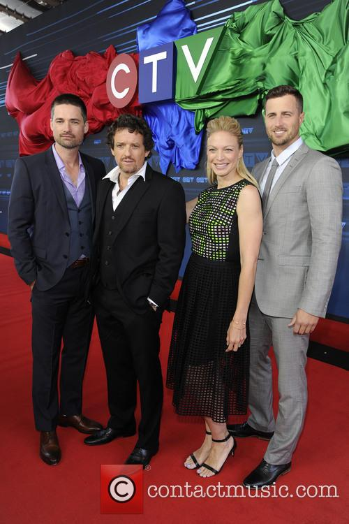 Warren Christie, Louis Ferreira, Kristin Lehman and Brendan Penny