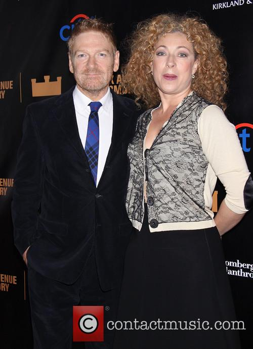 Kenneth Branagh and Alex Kingston 5
