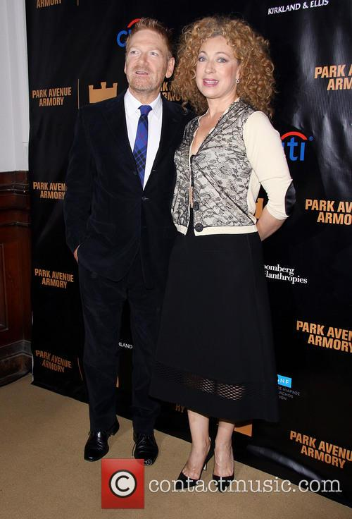 Kenneth Branagh and Alex Kingston 7