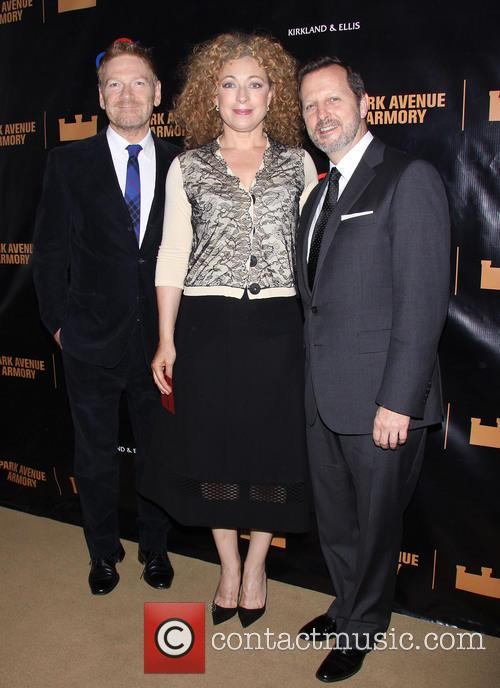 Kenneth Branagh, Alex Kingston and Rob Ashford 9
