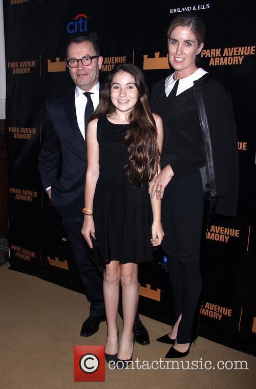 Colin Callender, Elizabeth Gaine Callender and Daughter