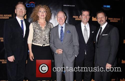 Kenneth Branagh, Alex Kingston, Elihu Rose, Adam Flatto and Rob Ashford 2