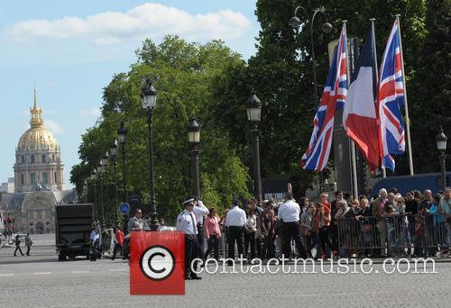 Queen Elizabeth II and Prince Philip visit Paris