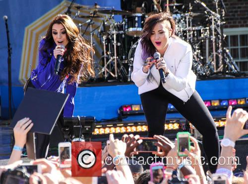 Cher Lloyd and Demi Lovato 2