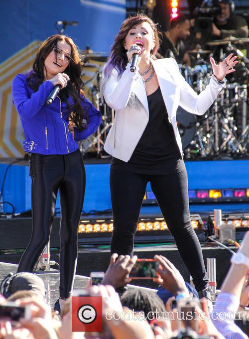 Cher Lloyd and Demi Lovato 3