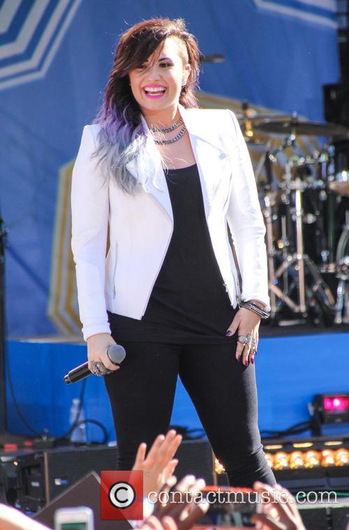 Demi Lovato, Central Park, Good Morning America