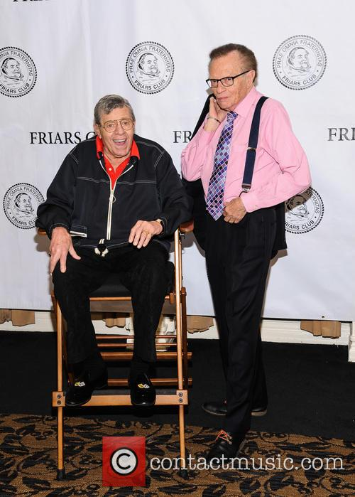 Jerry Lewis and Larry King 6