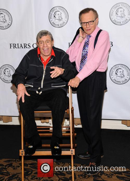 Jerry Lewis, Larry King