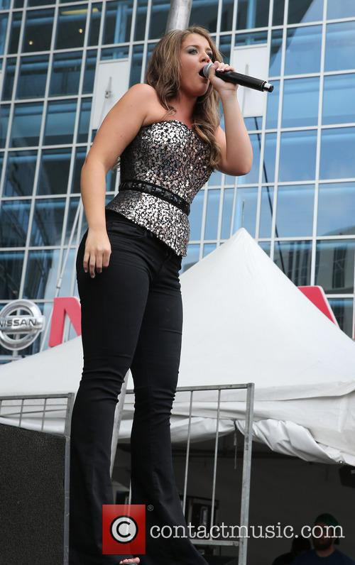 Lauren Alaina Performs at Bud Light Stage