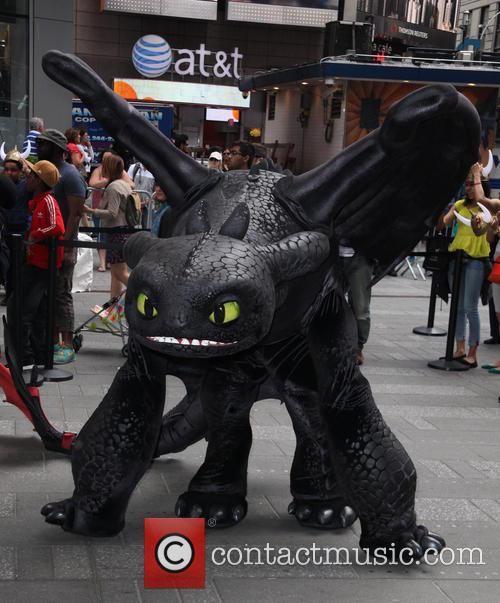 'How to Train Your Dragon 2' photocall