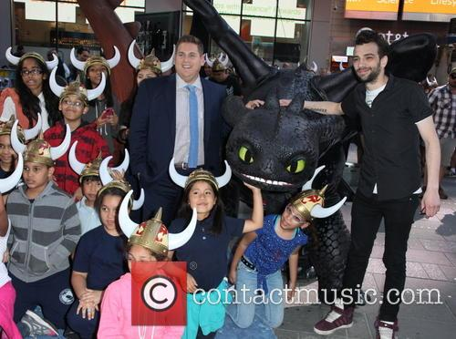 Jonah Hill, Jay Baruchel and Garden Of Dreams Children 10