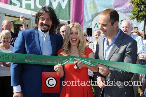 Laurence Llewelyn-bowen, Melinda Messenger and Martin Lewis 3