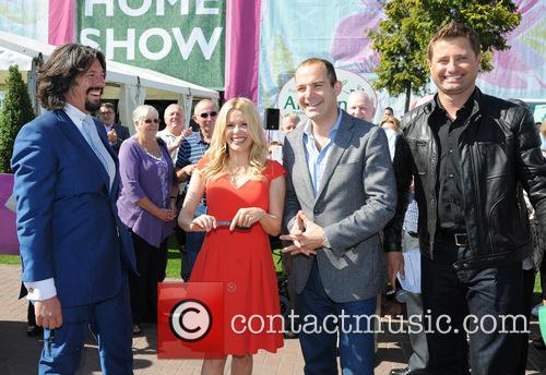 Laurence Llewelyn-bowen, Melinda Messenger, Martin Lewis and George Clarke 6