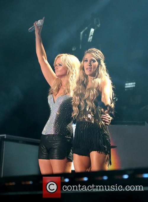 Miranda Lambert and Carrie Underwood 6