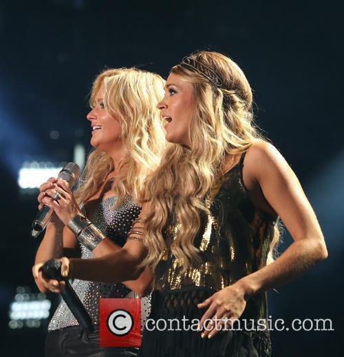 Miranda Lambert and Carrie Underwood 8