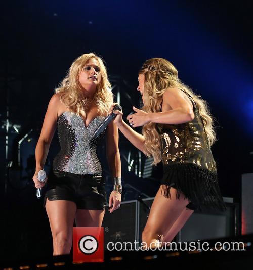 Miranda Lambert and Carrie Underwood 1