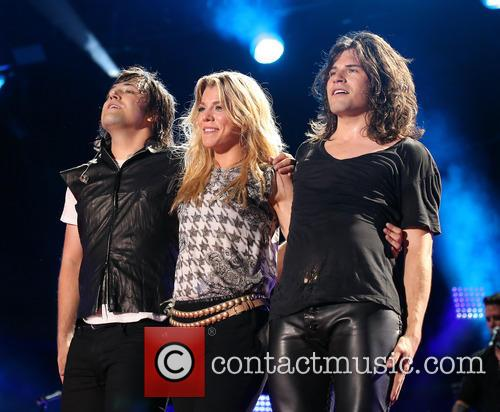 The Band Perry, Neil Perry, Kimberly Perry and Reid Perry 1