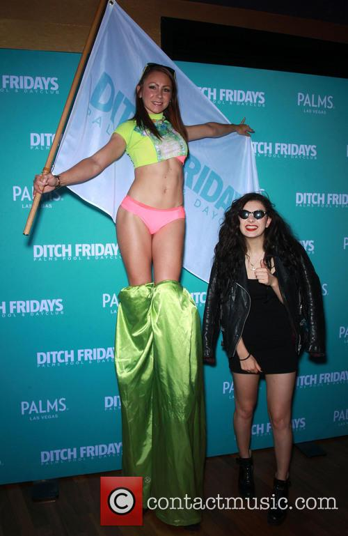 Charli XCX Performs at Ditch Fridays