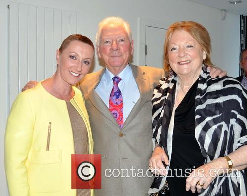 Cliff Richard, Majella O'donnell, Gay Byrne and Kathleen Watkins 3
