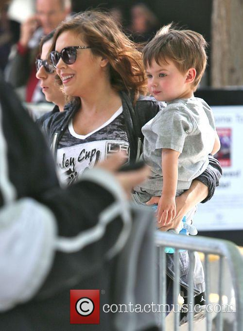 Alyssa Milano and Milo Bugliari 9