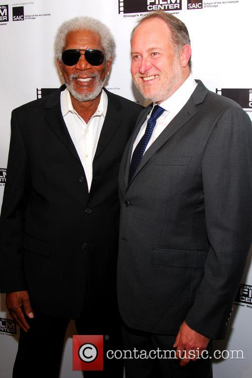 Morgan Freeman and Jon Turteltaub 3