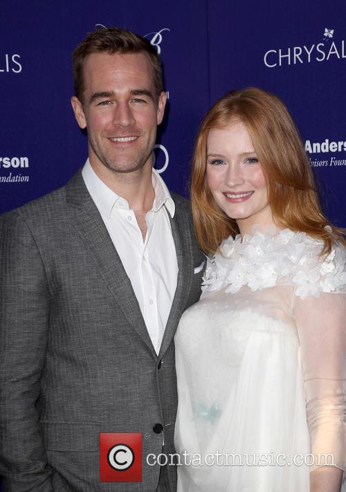 James Van Der Beek and Kimberly Brook 4