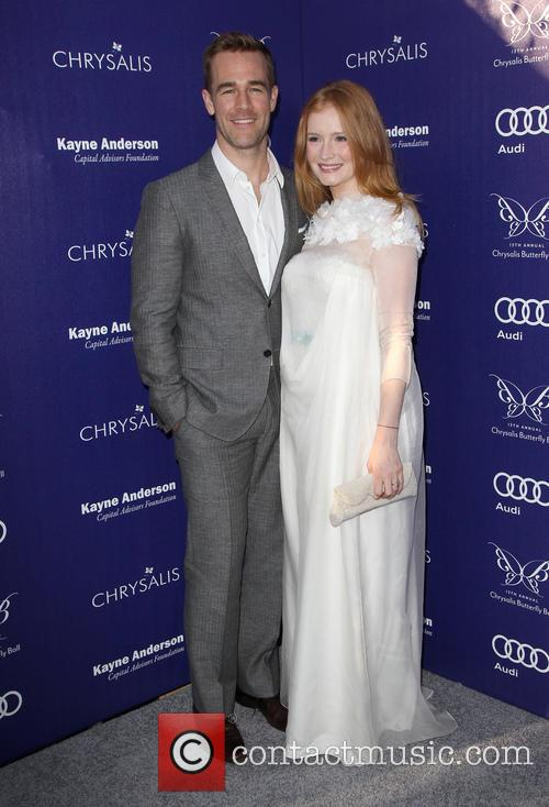 James Van Der Beek and Kimberly Brook 8