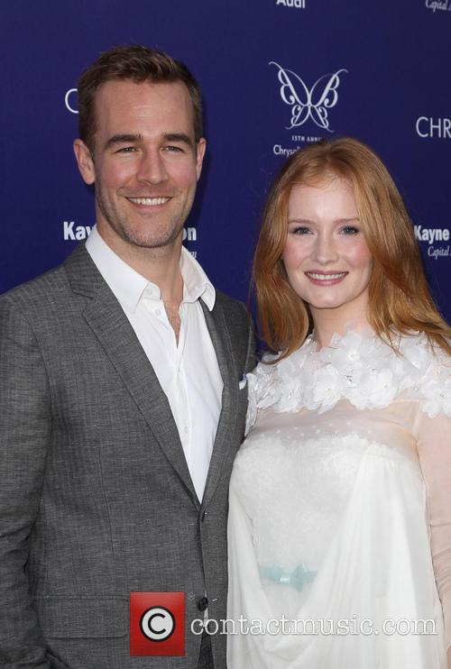 James Van Der Beek and Kimberly Brook 10