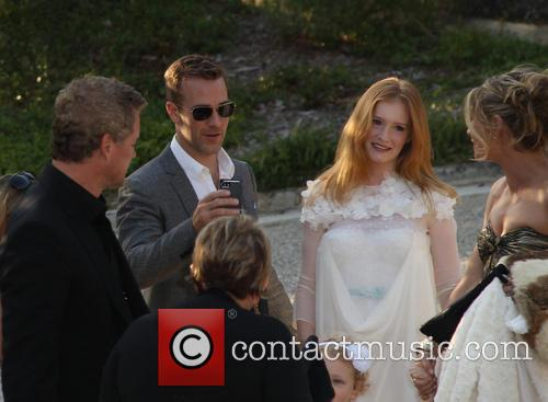 James Van Der Beek, Kimberly Brook and Rebecca Gayheart-dane 6