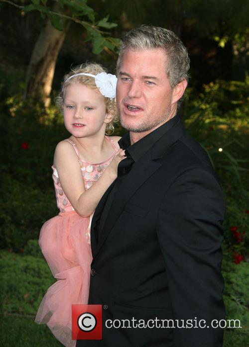 Eric Dane, his daughter Billie Beatrice, Private Residence, Chrysalis Butterfly Ball