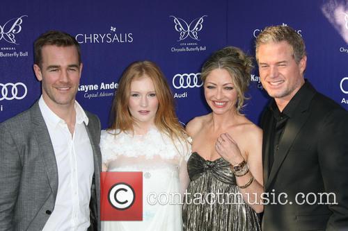 James Van Der Beek, Kimberly Brook, Rebecca Gayheart-Dane and Eric Dane 1