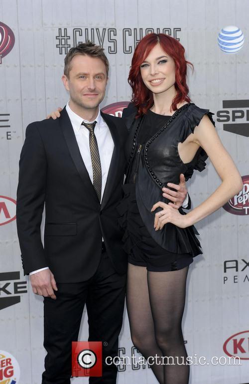Chris Hardwick and Chloe Dykstra 2