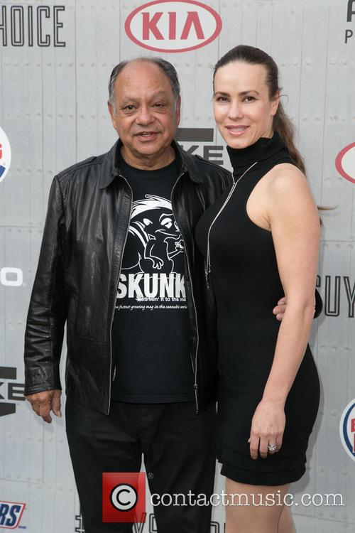Cheech Marin and Natasha Marin 1