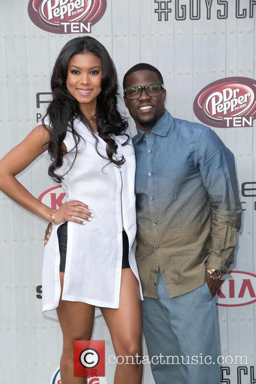 Eniko Parrish and Kevin Hart 4