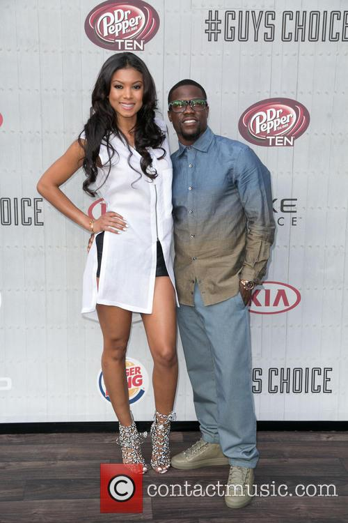 Eniko Parrish and Kevin Hart 1