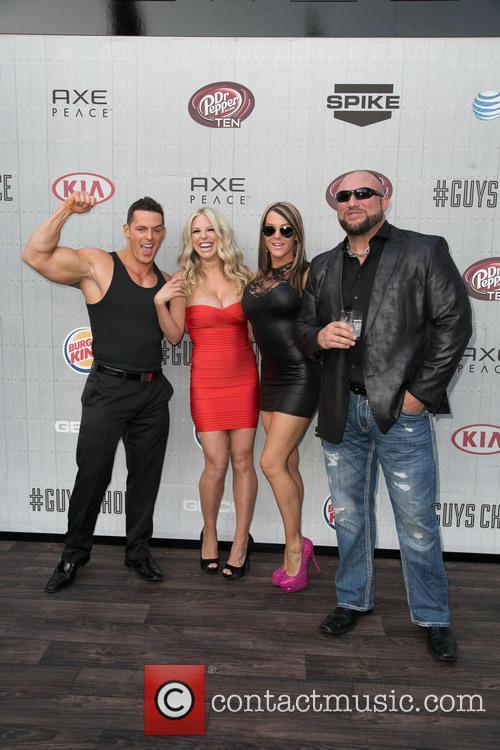 Jessie Godderz, Taryn Terrell, Jamie Lynn Szantyr and Bully Ray 5