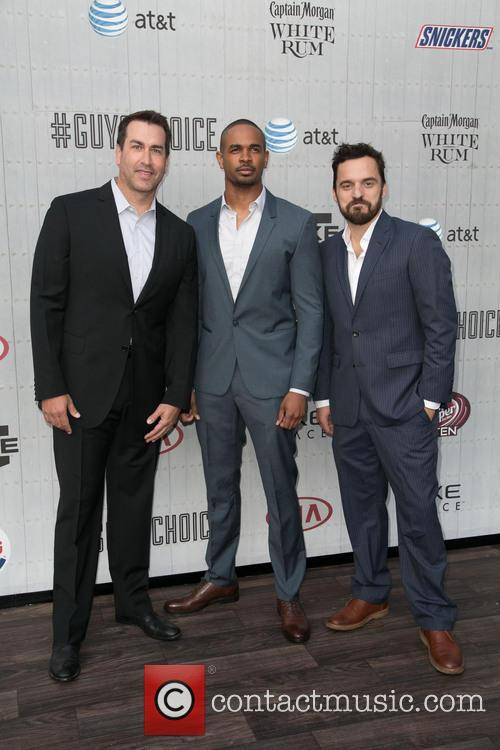 Rob Riggle, Damon Wayans Jr., Jake Johnson, Sony Pictures Studios