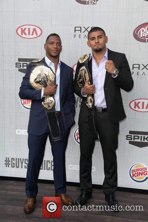 Will Brooks and Douglas Lima 9