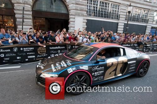 Gumball 3000 Rally arrives in London