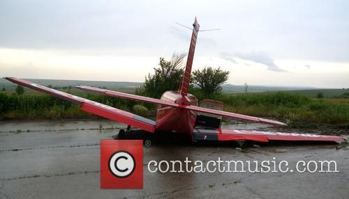 Plane crashes in Bulgaria