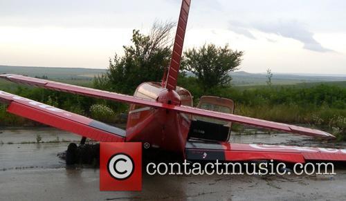 Plane crashes in Bulgaria
